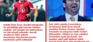 Galatasaray'a 6 Kasım 2002'de Oynanan Büyük Oyunun 6 Kahramanı