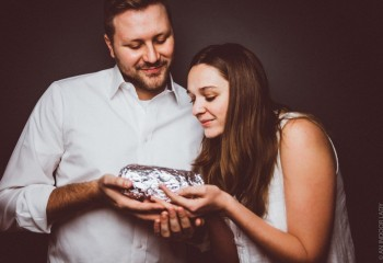 This Couple Did A 'Loving' Baby Photoshoot With A Burrito, And The Result Is…