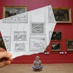 Yeni Sanat: Ben Heine'den 25 Kara Kalem ve Fotoğraf Çalışması