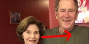 George Bush Tips This Waitress 200% But What She Does… Shocking!
