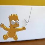 Yaratıcılıkta Sınırları Zorlayan 26 Apple Macbook Stickerı