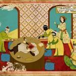 """""""Hollywood Filmleri Osmanlı'da Çekilseydi"""" Konulu 11 Minyatür"""