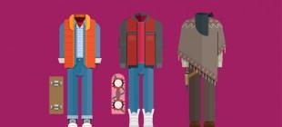 Minimal Hareketler ile Popüler Filmlerin Kostümlerini Yeniden Çizmece