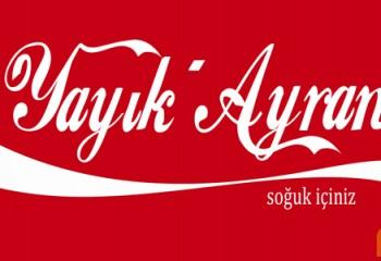 Coca Cola ve Yeni Rakı Ayran İşine Girerse Logoları Nasıl Olur?