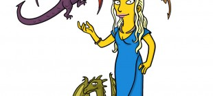 The Simpsons'tan Enfes Çizimler ile 13 Game of Thrones Karakteri