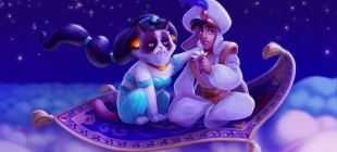 Huysuz Internet Fenomeni Grumpy Cat'i Disney Karakteri Yapmaca