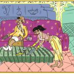9 Çarpıcı Çizimle Evlilikte Kama Sutra Rehberi