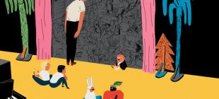 Rengarenk 19 Çocuk Kitabı Çizimiyle İç Açan Norveçli İllüstratör
