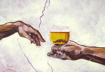 This Painter Adds Beer To Famous Classic Paintings, The Result Is Supercool