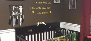 Parents Created A Harry Potter Themed Nursery For Their Little Unborn Wizard And It Is Simply Amazing!
