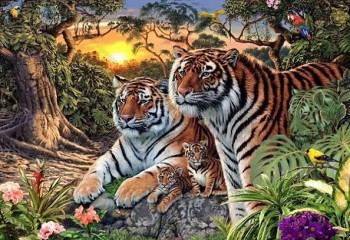 Internet Failed To Spot The Hidden Tigers In This Picture. Can You?