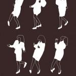 Unutulmaz Film ve Dizilerin Bir O Kadar Unutulmaz Dans İllustrasyonları
