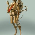 Star Wars'ı Steampunk ile Buluşturan 9 İllüstrasyon