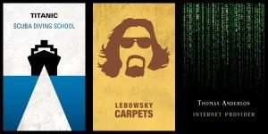 Sinema Devlerinin Gerçek İşlerini Açığa Çıkartan Kartvizitleri